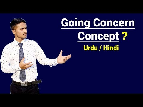 Going Concern Concept | Urdu / Hindi