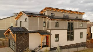 209. Solid Wood Passive House - 90% More Energy Efficient