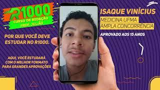 Isaque Vinícius - Medicina UFMA - Ampla Concorrência