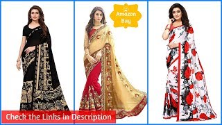Best Georgette Party Wear Saree - Buy Best From Amazon - Best Offers in Price