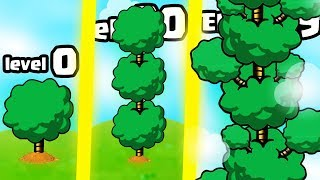 IS THIS THE HIGHEST LEVEL BIGGEST TREE EVOLUTION? (9999+ EXPENSIVE TALLEST UPGRADE) l INFINITY TREE