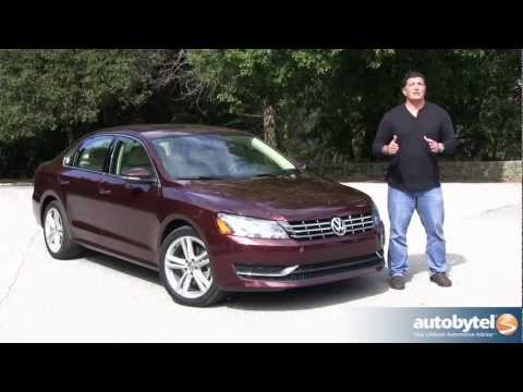 2012 Volkswagen Passat TDI Test Drive & Car Video Review