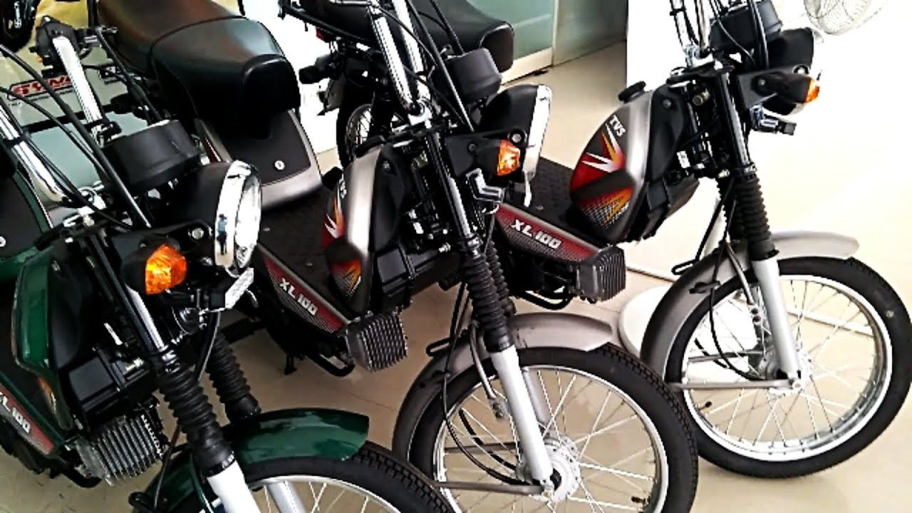 Tvs Xl 100 Heavy Duty Moped Complete Review Including Price