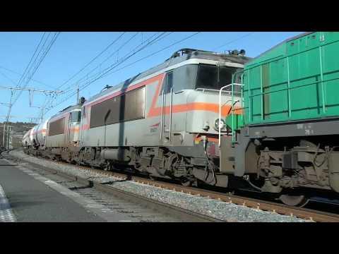 Freight Trains of France - フランスの貨物 - Trains de Marchandises & Infra