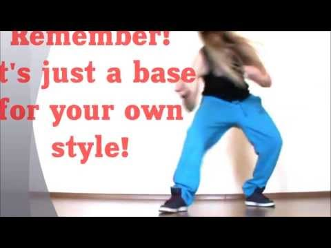 Basic HipHop Bounce (feat.ZipZap).Easy Dance Lesson by EHABY.
