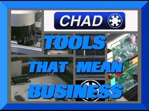 "Chad Industries - ""Tools That Mean Business"""