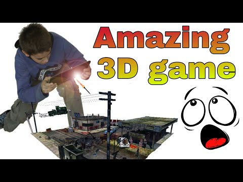 Amazing Augmented Reality 3d game | top android 3d game | I TECH