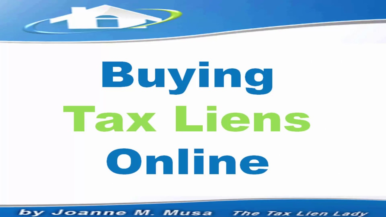 Buying Tax Liens Online 2017 Youtube