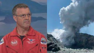 Helicopter pilot talks about being one of the first people on the scene at White Island tragedy