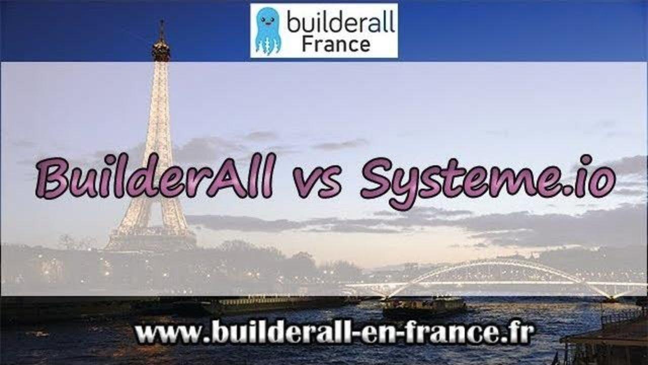 Systeme.io vs Builderall : Voyez par vous même les différences !