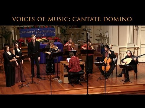 Monteverdi: Cantate Domino; Voices of Music SV 293