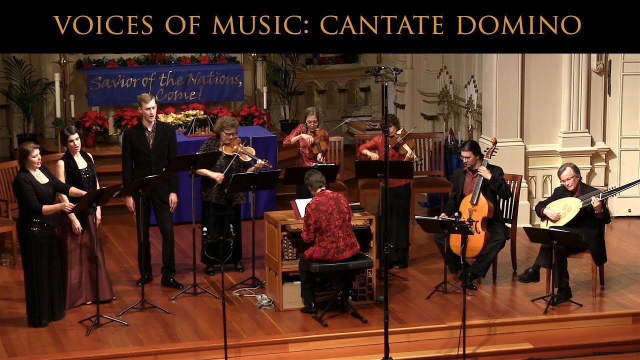 Claudio Monteverdi: Cantate Domino; Voices of Music