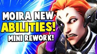 Overwatch - Moira NEW Abilities! Mini REWORK! - Genji NERFED!