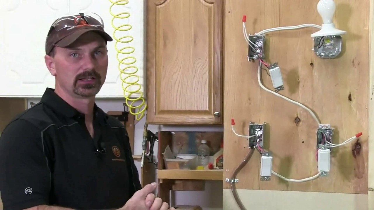 Way Switch Wiring Diagram Multiple Lights How To Wire A 4 Way