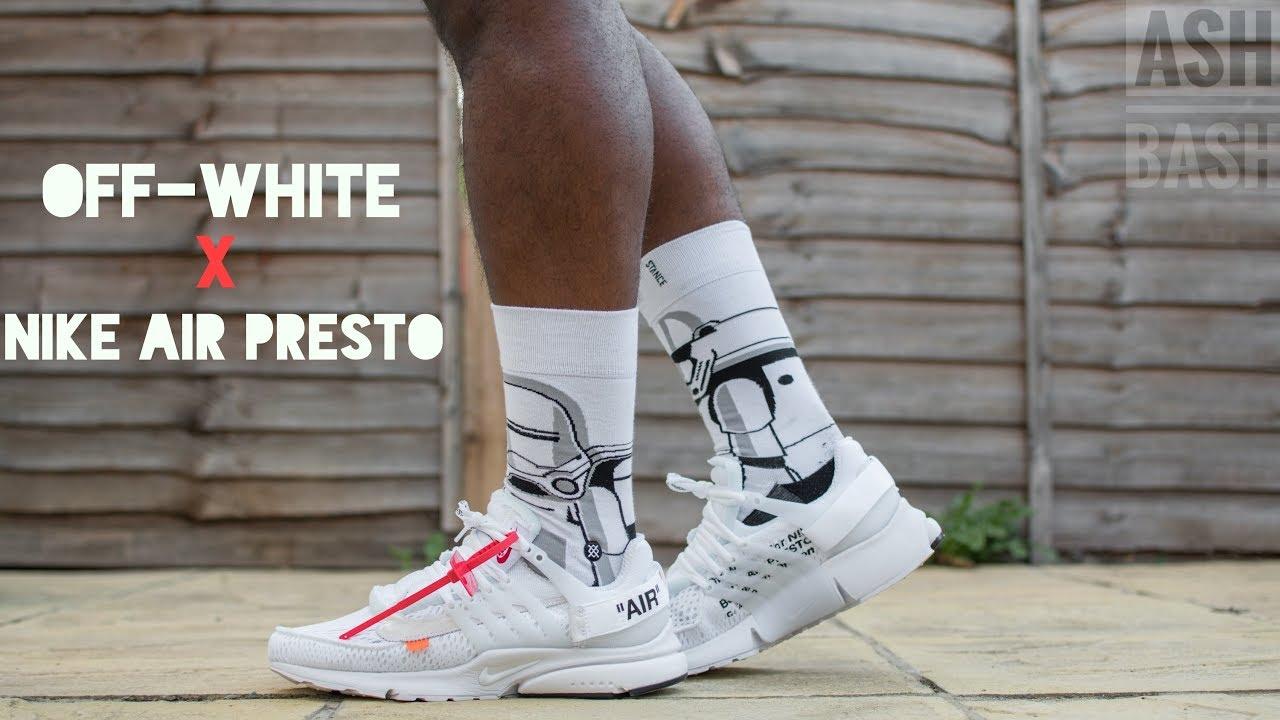 pasajero levantar Prohibir  Review + On Foot   Nike Air Presto x Off-White (White)   Ash Bash - YouTube