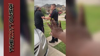 texas cop illegally searches man for his id and realized he got the wrong man