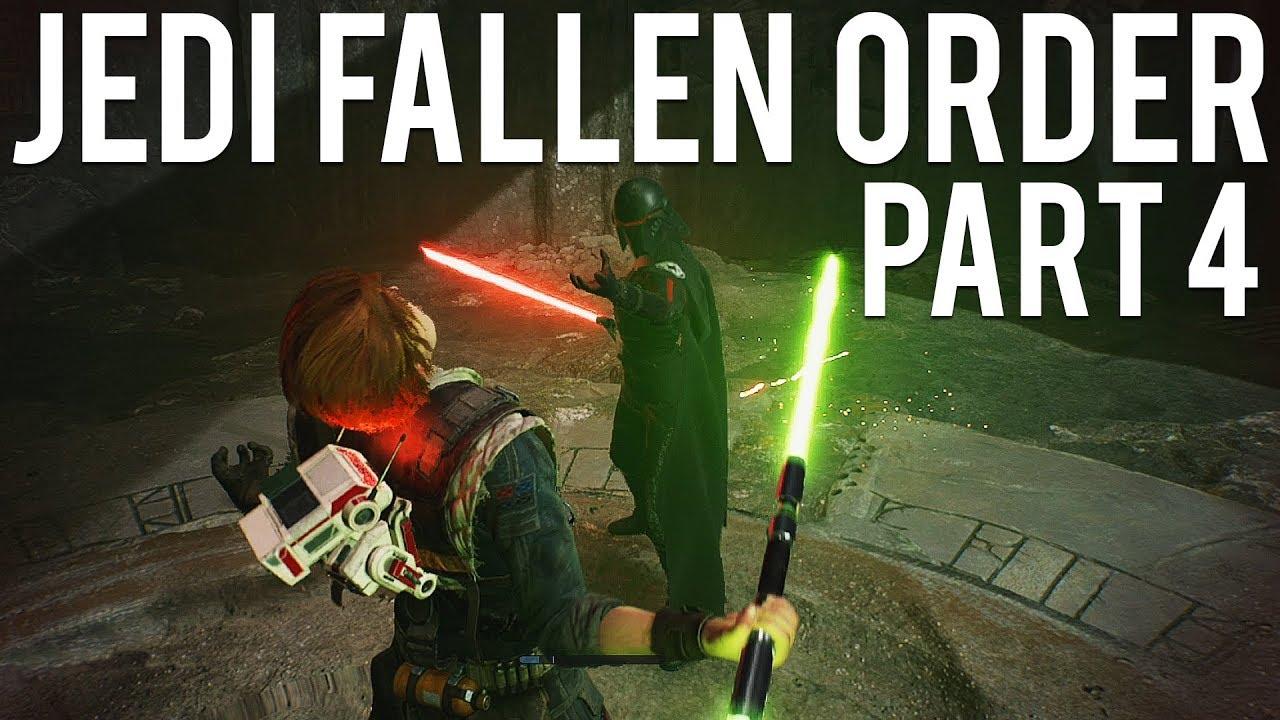 Ordem Jedi Caída Parte 4 - Lutando com a Segunda Irmã + vídeo