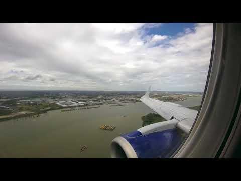 Manchester (EGCC) to London City (EGLC) Flight Timelapse