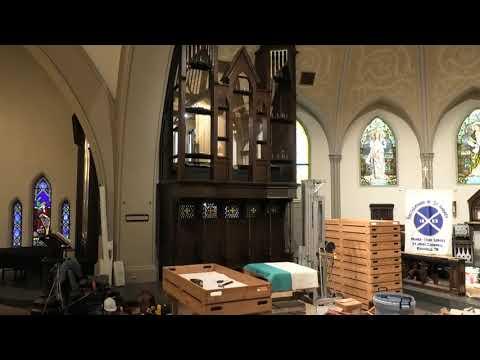 Organ Pipe Installation