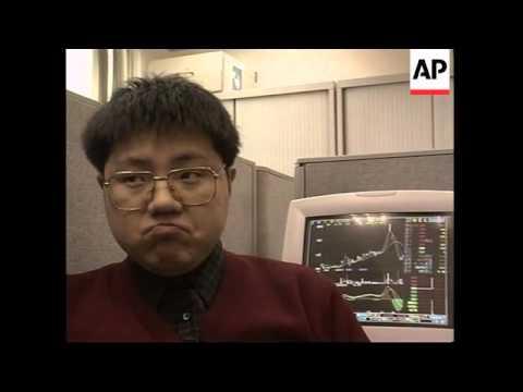 CHINA: SHANGHAI: STOCK MARKETS