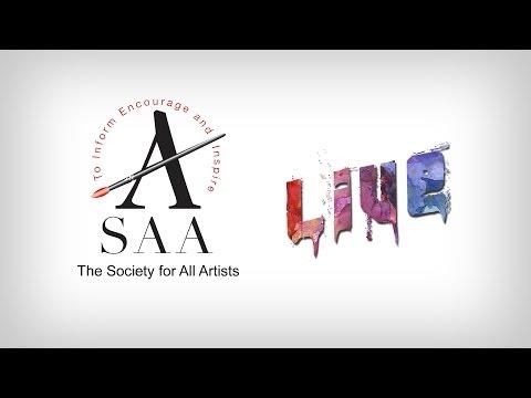 SAA LIVE - Watercolour Masterclass with Amit Kapoor and Joe Dowden