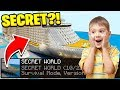 Minecraft: I FOUND MY LITTLE BROTHERS SECRET WORLD(Ps3/Xbox360/PS4/XboxOne/PE/MCPE)