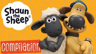 Эпизоды 11-15 сборник S1 | Барашек Шон [Shaun the Sheep S1 Compilation]