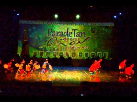 Parade Tari Daerah Prov. Riau 2014 Pekanbaru (Negeri Junjungan)
