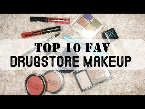 Top 10 Drugstore Makeup Favs | available at Watsons / Guardian
