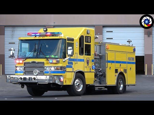 [Las Vegas] Engine 18 + Truck 18 - Clark County Fire Department
