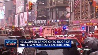 Governor Cuomo confirms casualties in Midtown Manhattan helicopter crash