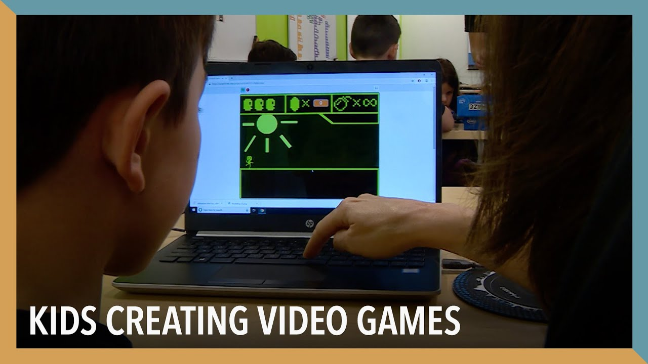 Kids Creating Video Games Voa Connect Youtube