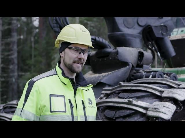 IBC im Testlauf mit dem finnischen Kunden Granvikin Metsätyö Oy