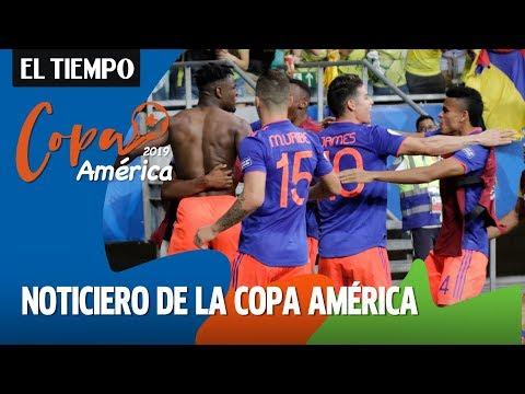 Noticiero de la Copa América: Colombia debutó contra Argentina | EL TIEMPO