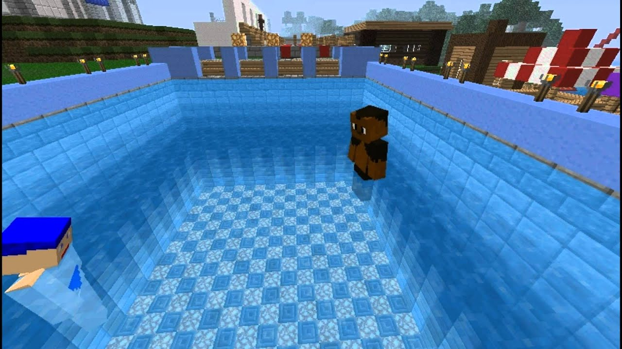 2012 Minecraft Summer Olympics   Swimming