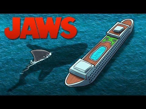 Jaws Movie 1 - THE FIRST SHARK ATTACK! (Minecraft Roleplay Movie) thumbnail