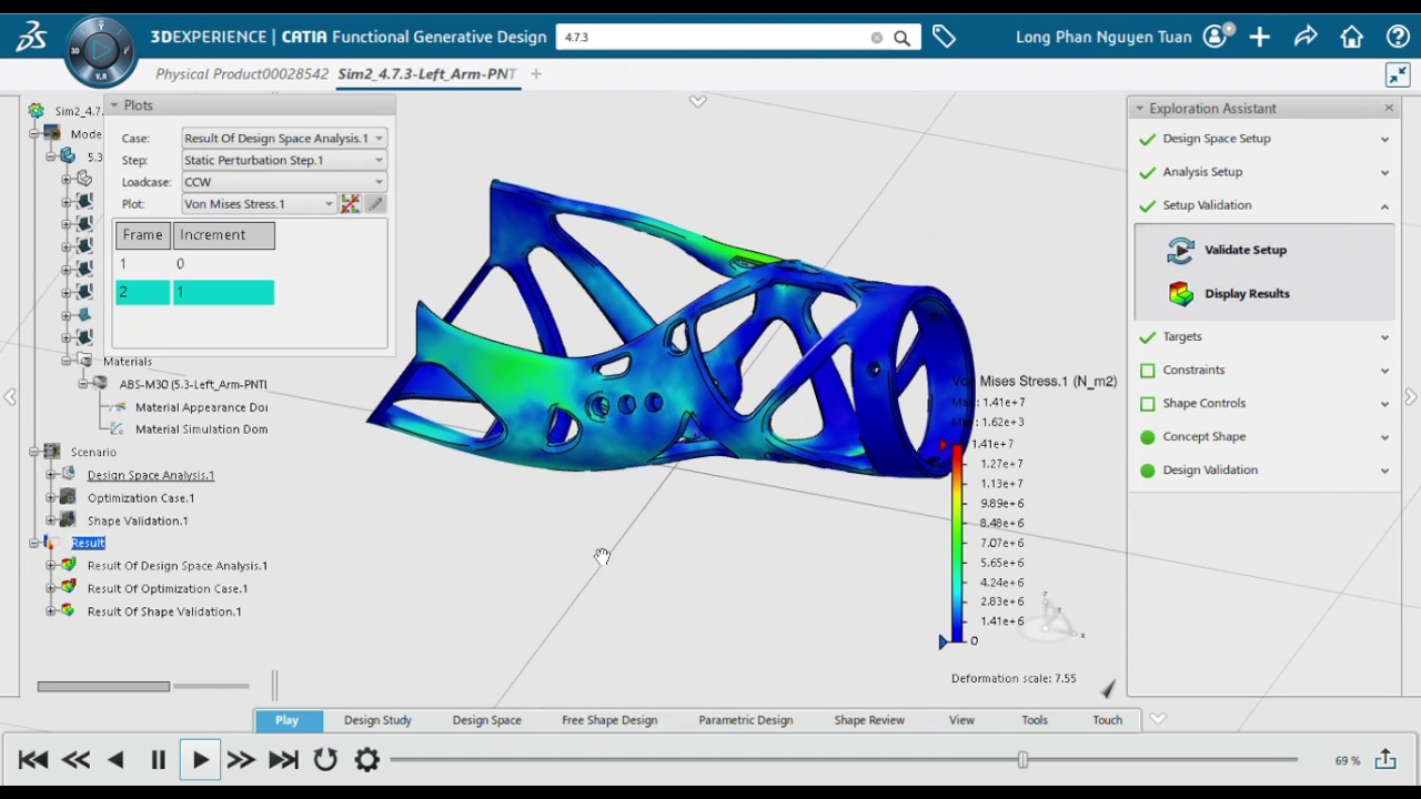 Design Poppy's Forearm using Topology Optimization | 3DS Academy