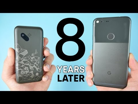 First Android Phone vs Google Pixel! 8 Year Comparison