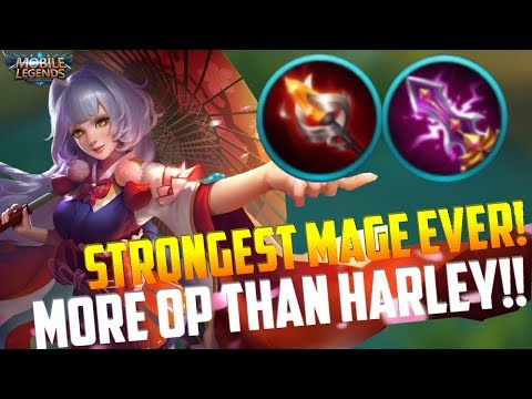 NO.1 MAGE IN MOBILE LEGENDS SEASON 5! MOBILE LEGENDS KAGURA