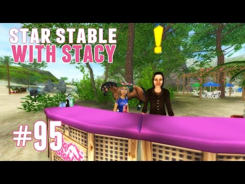 Star Stable With Stacy #95 - Tim's Fort Pinta Beach Party!