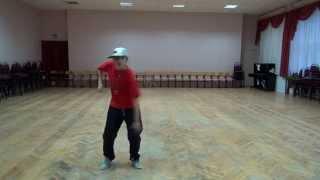 Видео уроки танцев/ базовые движение в хип-хопе / урок 2