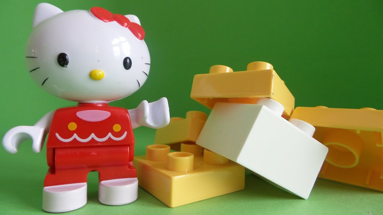 of Hello Kitty LEGO Duplo uitpakken en bouwen ~ Unboxing Hello Kitty ...