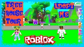 ADOPT ME ROBLOX TREE HOUSE TOUR