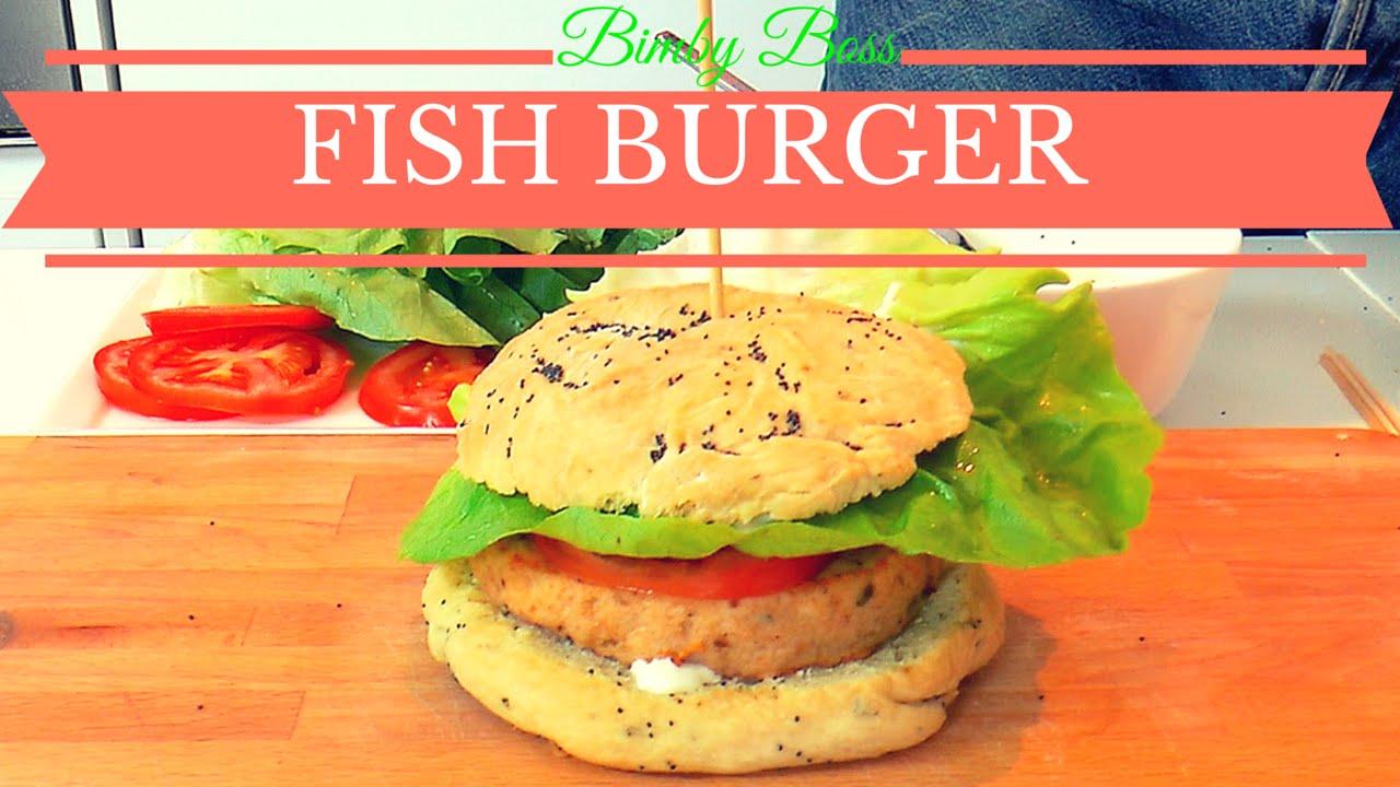 Bimby Tm5 Tm31 Thermomix Hamburger Di Pesce Fish Burger