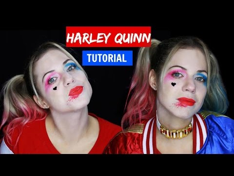 HARLEY QUINN HALLOWEEN Makeup Tutorial - Suicide Squad Halloween Makeup thumbnail