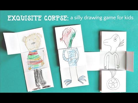 Drawing Game for Kids: Exquisite Corpse - YouTube