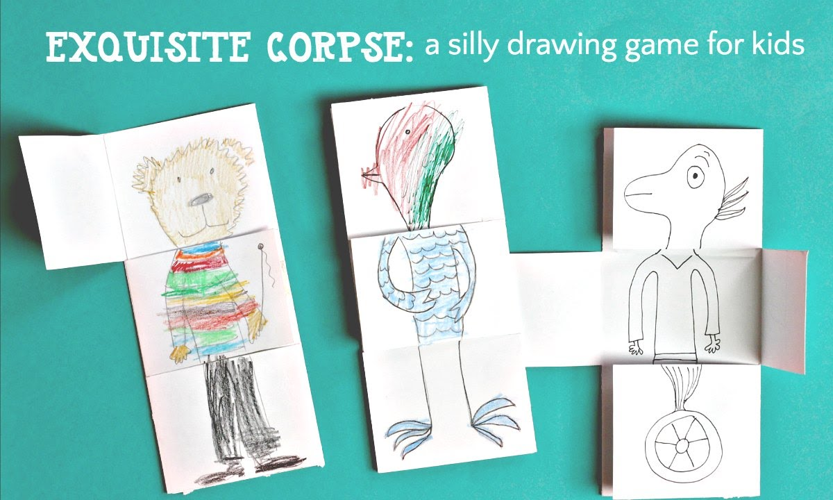 Drawing Game For Kids Exquisite Corpse Youtube