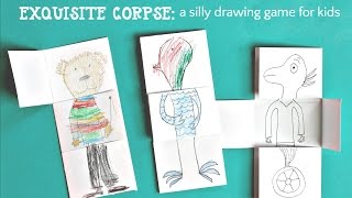 Drawing Game For Kids: Exquisite Corpse