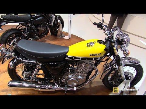 2016 Yamaha SR400 60th Anniversary - Walkaround - 2015 EICMA Milan