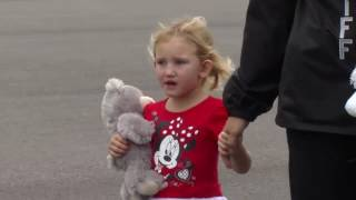 RAW VIDEO: Kidnapped 4-year-old, Rebecca Lewis, reunited with family
